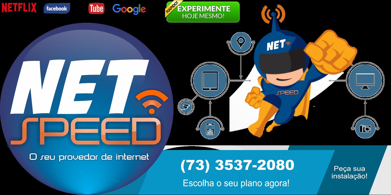 NetSpeed    O seu provedor de Internet