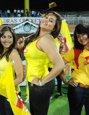Tamil Actress Namitha from Ccl Matches Photo Gallery