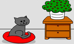 Cat Room Escape