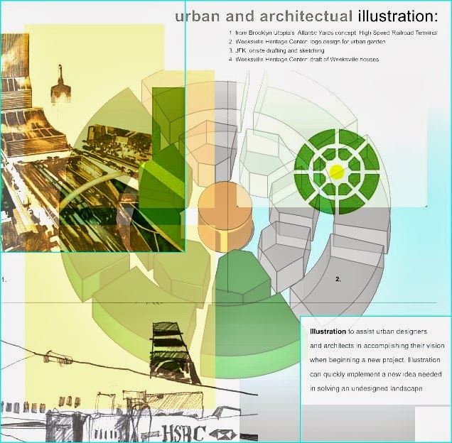 urban and architectual illustration: