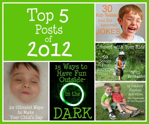 top five posts of 2012