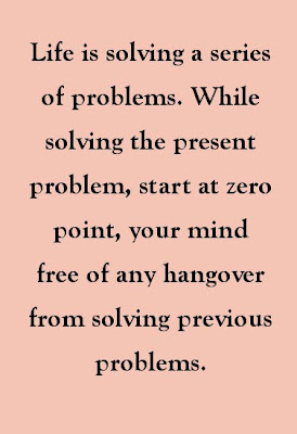 Zero based problem solvin