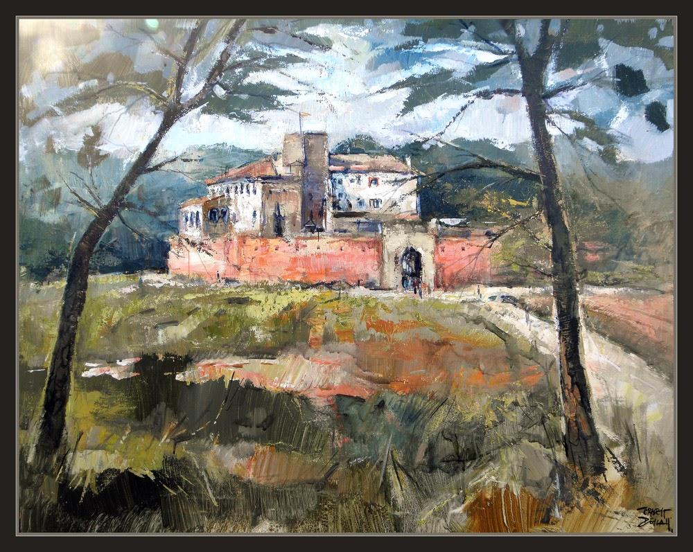 Ernest descals artista pintor oller del mas pintura - Trabajo de pintor en barcelona ...