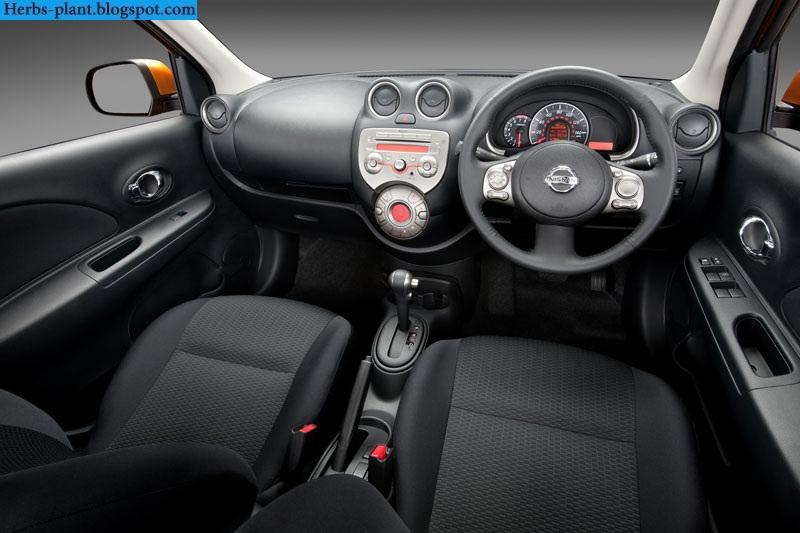 Nissan march car 2013 dashboard - صور تابلوه سيارة نيسان مارش 2013