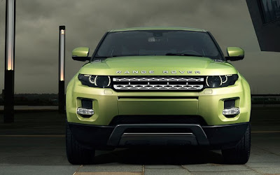 land rover sport cars - green range rover