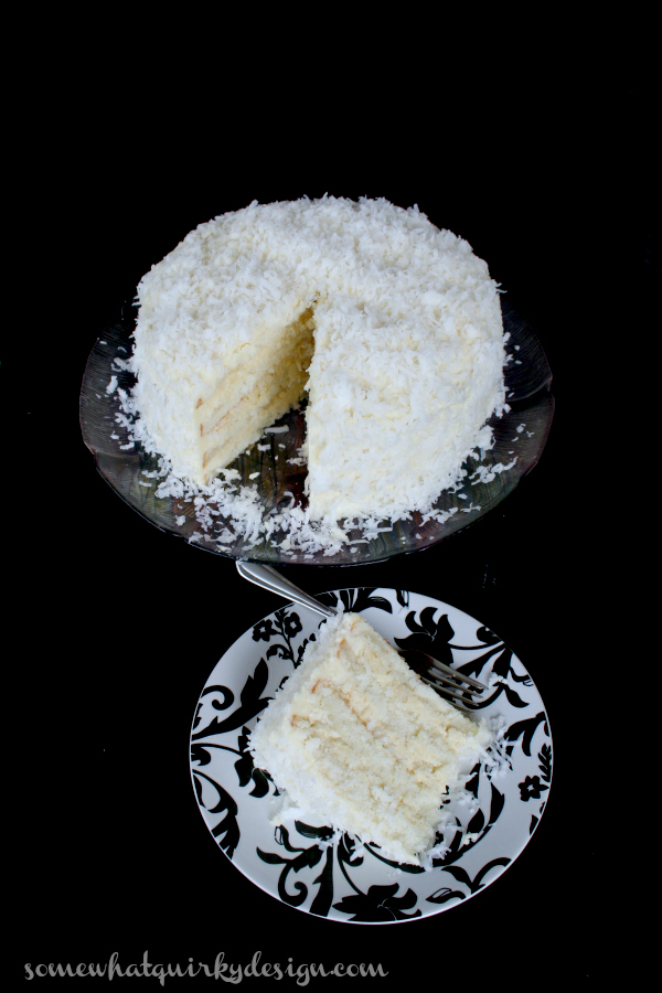 Somewhat Quirky: Coconut Cream Cake