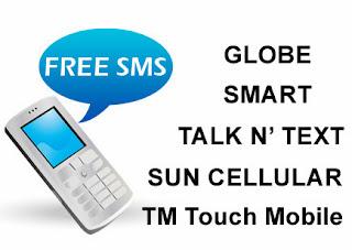 Smart, Globe, TM, SUN & Talk n Text offer free SMS in Yolanda-hit areas