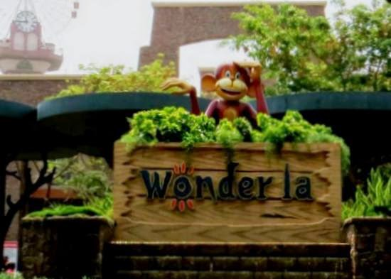 wonder la amusement park bangalore