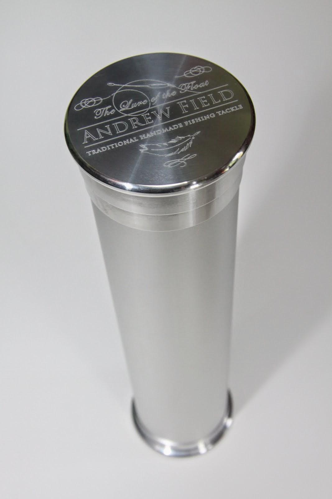 Silver Aluminium Tube