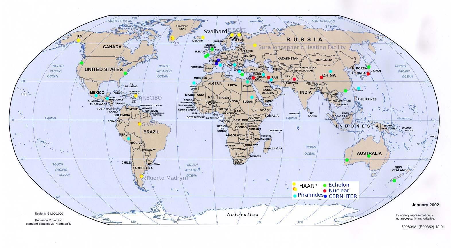 Varios Mapas del Mundo (con Paises) Gratis en Infografías.