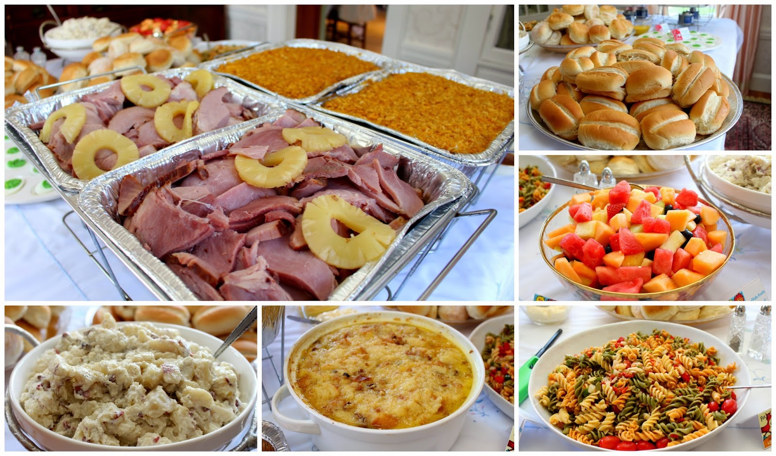 Baby Shower Brunch ~ Host an easy bridal or baby shower brunch everyone will love