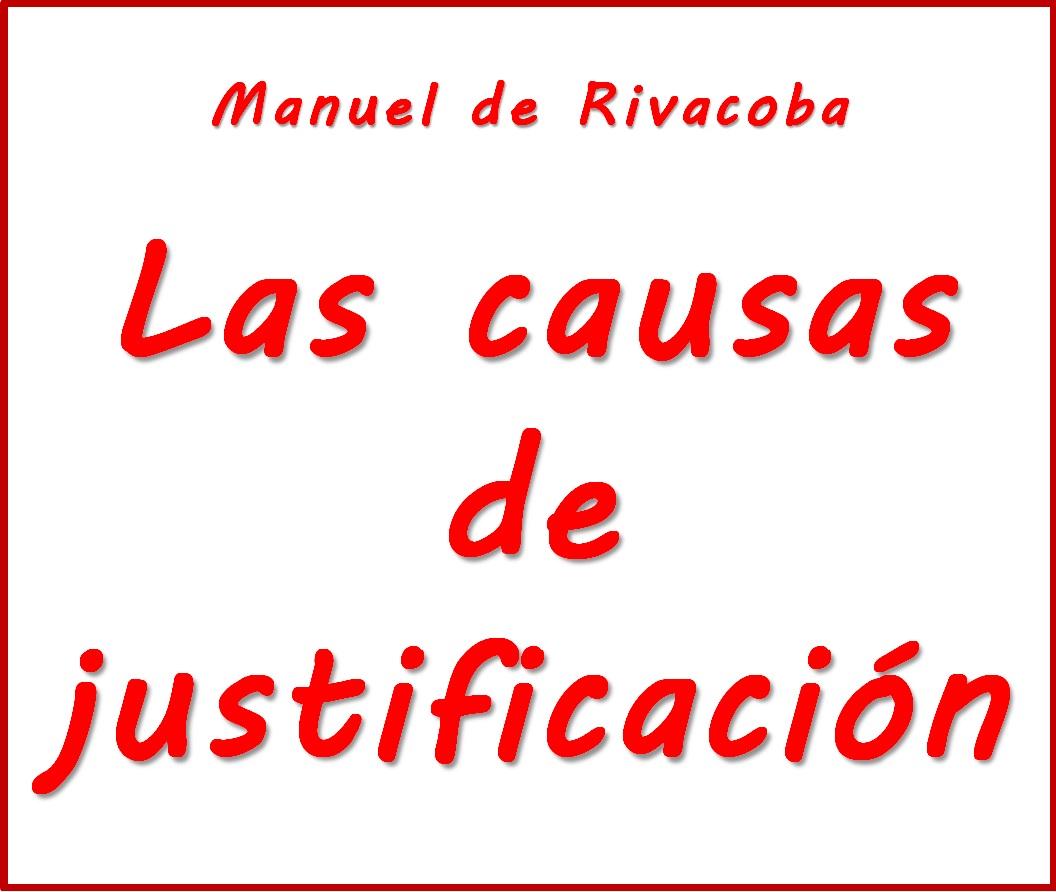 """""""Las causas de justificación"""". Pulse sobre imagen..."""
