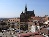 St Paul Cathedral Brno on the Petrov Hill