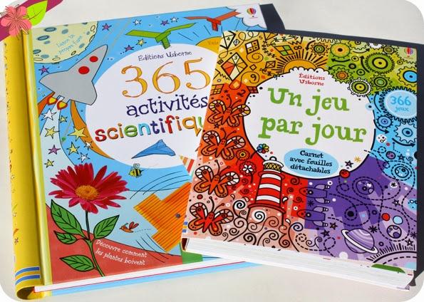 Un jeu par jour et 365 activités scientifiques - éditions Usborne