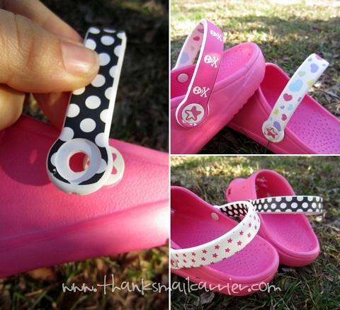 changing sandal straps