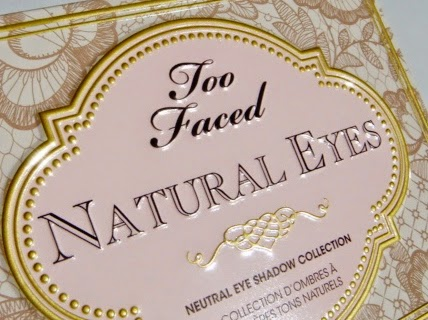 """Natural Eyes Neutral Eye Shadow Collection""de Too Faced"