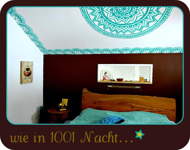 Romy day 1001 nacht - Bett hinterwand ...