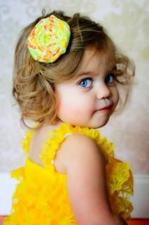 Gaya rambut anak perempuan cute