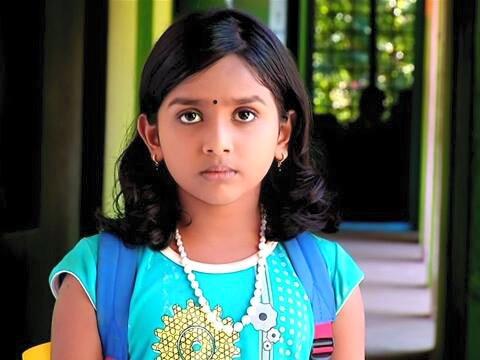 Baby Greeshma as Janikutty in Manjurukum Kalam Serial
