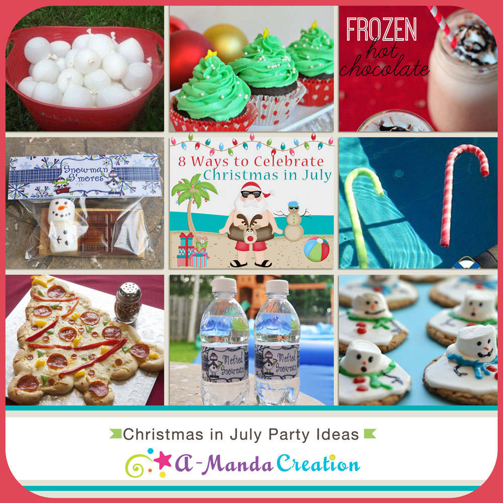 Best 28 christmas in july ideas for a tis the season for Christmas in july party ideas