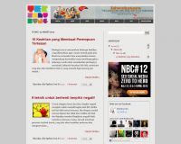 terselubung blogger template