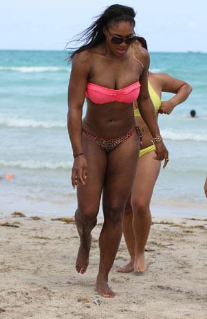 Serena Williams en Bikini : Miami Abril 2011