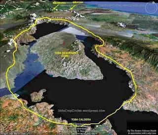 Mencari Gunung Toba di Dasar Danau Toba