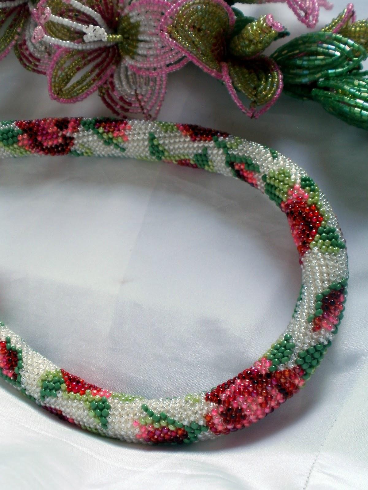 Вязание жгутов из бисера мастер класс с пошаговым