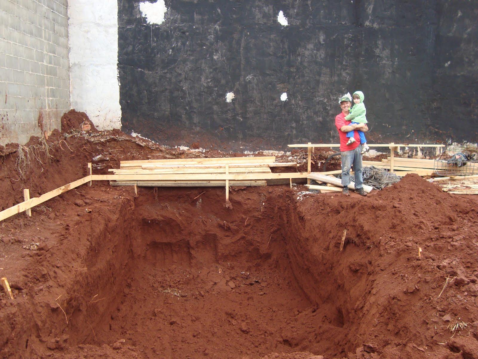 Construindo Nosso Lar Buraco Da Piscina
