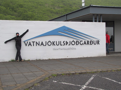 Vatnajokull National Park and me; the Iceland Ninja!  Photo by Maureen