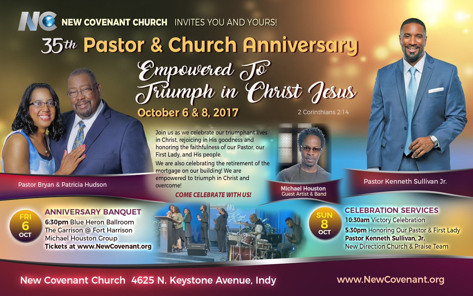 35th Pastor and Church Anniversary!