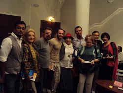 Noite de autógrafos de Márcio Catunda e Sérgio Gerônimo na Casa de Cultura Laura Alvim
