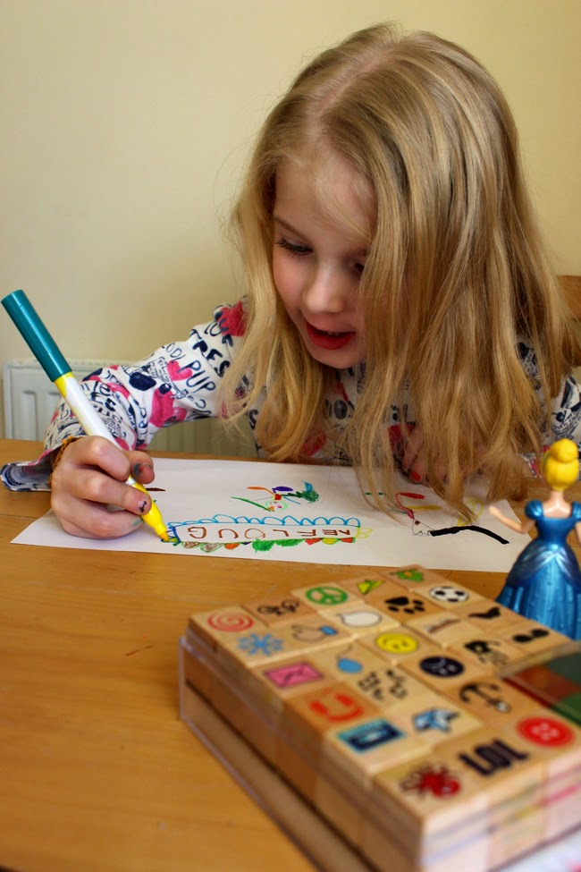 busy girl, pens and paper, todaymyway.com, christmas magic