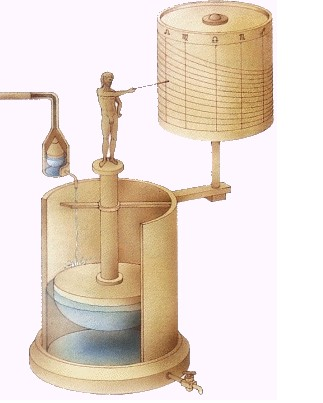 costruire orologio ad acqua