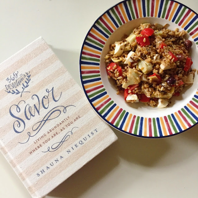 Wild Rice, Salad, Savor, Shauna Niequist, Recipe, Vegetarian