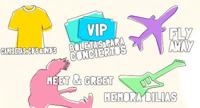 premios viajes meet & greet boletos conciertos memorabilias discod descargas Promocin fan jean book Mexico 2011