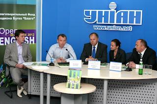 Родион Бутко на итоговой конференции по проекту Open Healthcare English 2012