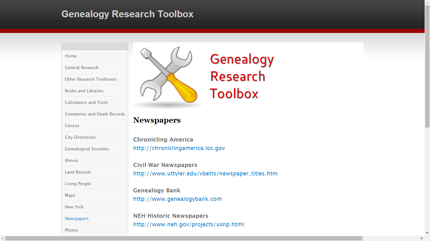 genealogy papers research