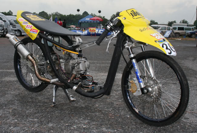 Motor Jupiter Modifikasi Tiger Trail