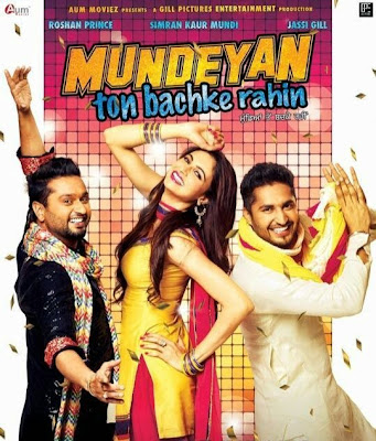Poster Of Mundeyan Ton Bachke Rahin (2014) In 300MB Compressed Size PC Movie Free Download At …::: Exclusive On DownloadHub.Net Team :::…