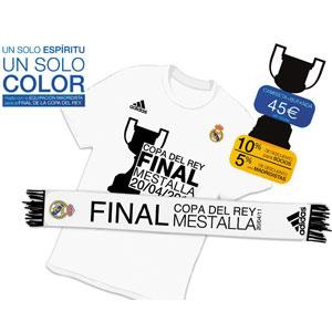 Camiseta del Real Madrid Final de la Copa del Rey 2011