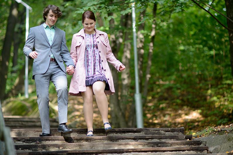 Kauno žaliakalnio laiptai