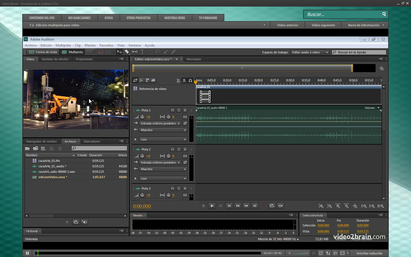 Video2Brain        Introducci  N A Adobe Audition CS6       Aprende A