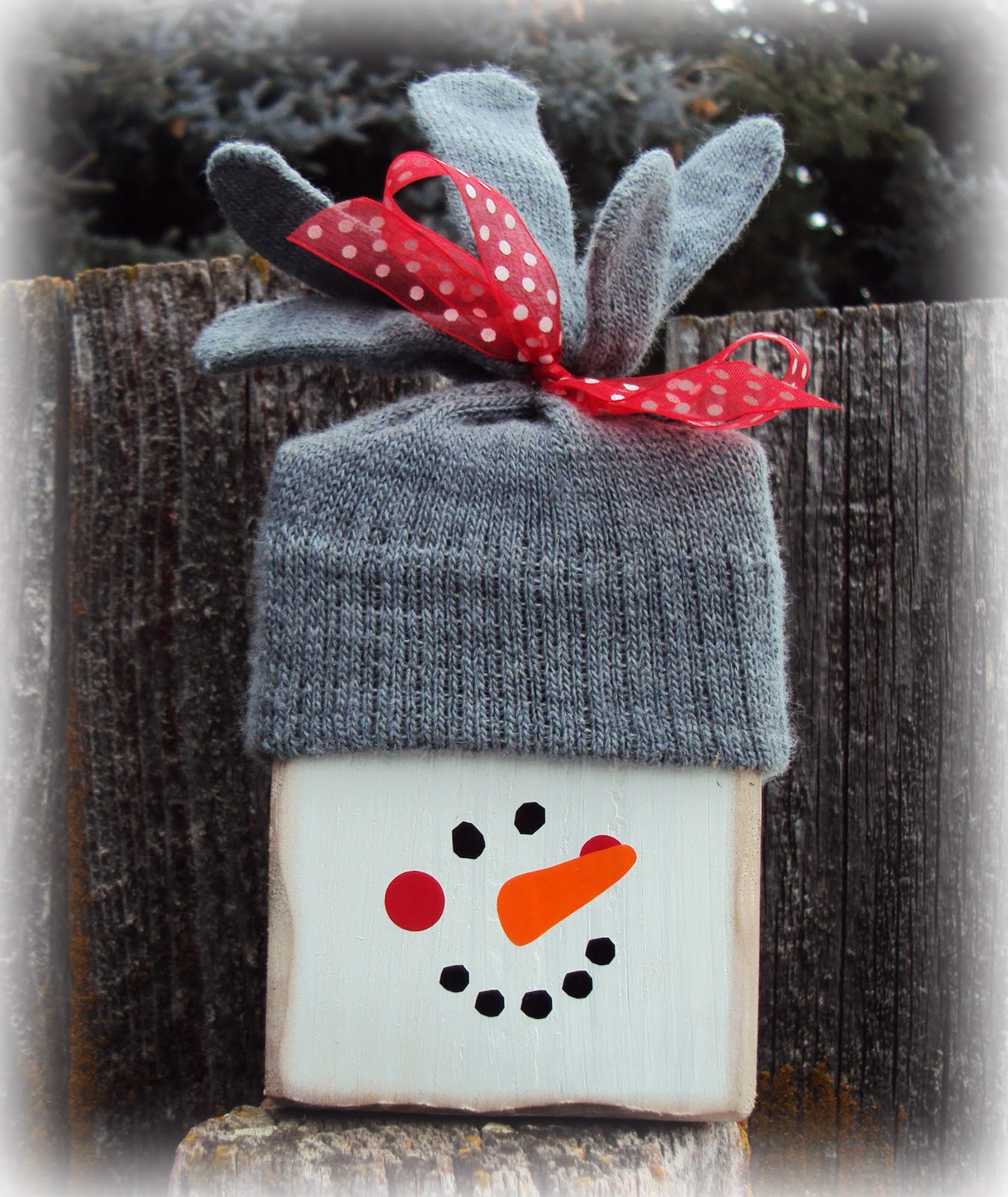 Inking it up snowman block for Where to buy wood blocks for crafts
