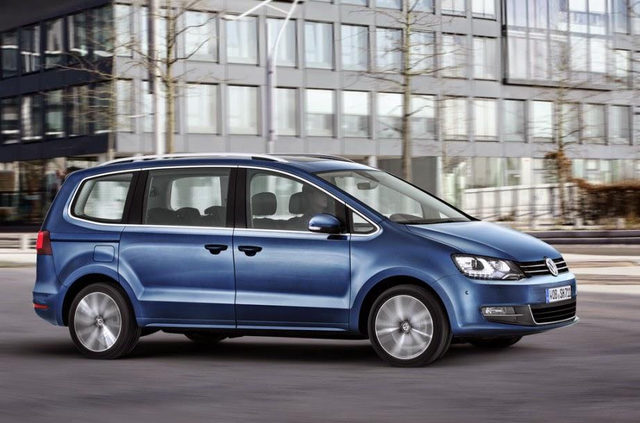 Geneva 2015 2016 Volkswagen Sharan Shows Garage Car