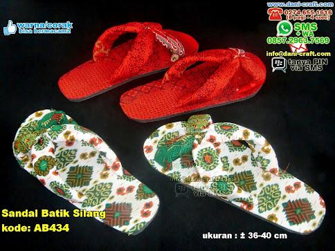 Sandal Batik Silang