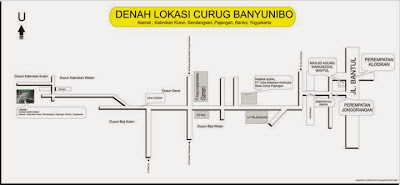 Denah Lokasi Curug Banyunibo