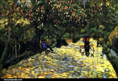 Lukisan Warna Air Yang Seakan-Akan Hidup
