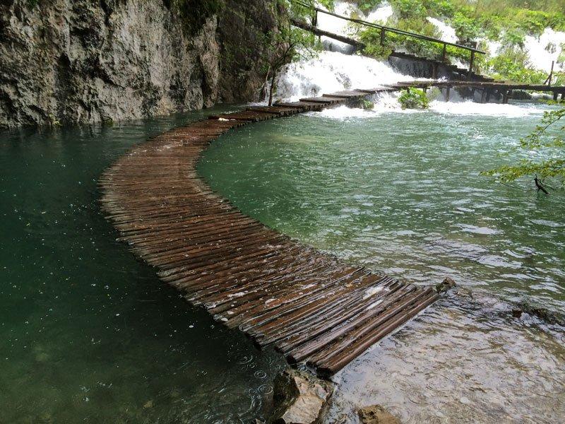 Imagen del día: Calzada de agua en Croacia
