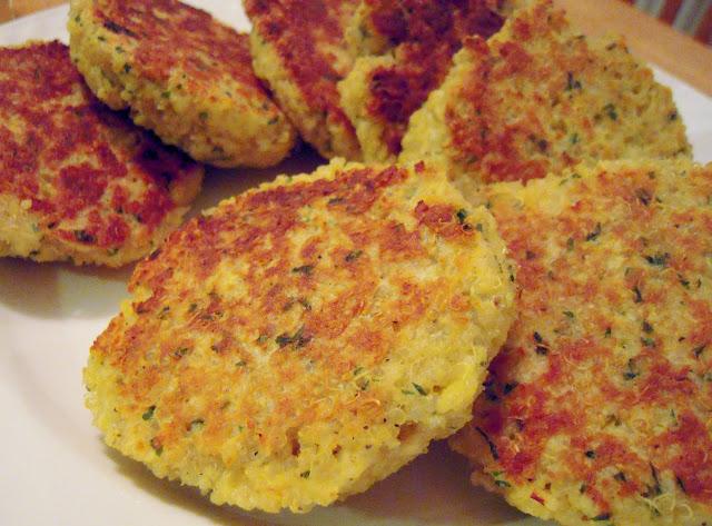 """Sarah's Fares: Quinoa """"Cakes"""" (Patties)"""